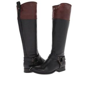 NWT Frye Melissa Harness Boots